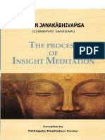 The Process of Insight Meditation - U Janaka