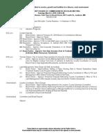 Commissioners March 6 Agenda