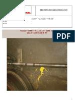 Pre-Inspection Safety Valve 2.81 SOF