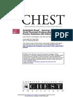 Anti Platelet Drugs Accp 8th Ed