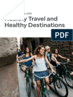 Healthy Travel and Healthy Destinations