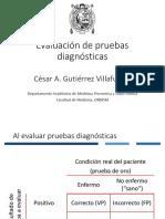Clase 17 Pruebas Diagnósticas