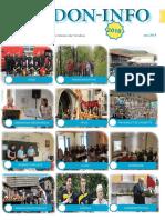 Le journal PDF du mois de mai de l'association Verdon info