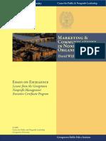 Marketing & Communications in Nonprofit  Organizations
