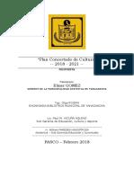 BILBIOTECA - Plan Concertado de Cultura Yanacanchina