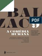 Honore de Balzac a Comedia Humana–Vol 9
