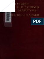 Ethel Ross Barker - Rome of the Pilgrims and Martyrs