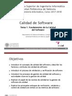 Tema 1 - Fundamentos de La Calidad Del Software (2)