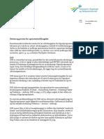 Status Og Proces for Operatørinddragelse