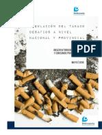 Informe Propuestas en La Regulación Del Tabaco