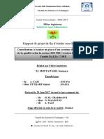 Contribution a La Mise en Place de SMQ FALIA CORP 2017