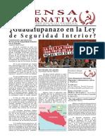 Prensa Alternativa Núm.116 Presa Alternativa Del 4 Al 17 de Diciembre de 2017