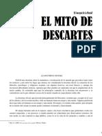 Gilbert Ryle - El Mito de Descartes