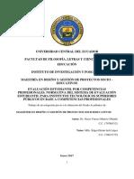 Evaluación Estudiantil Por Competencias Profesionales. Normativa Del Sistema de Evaluación Estudiantil Para Institutos Tecnológicos Superiores Públicos en Base a Competencias Profesionales
