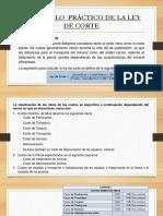 Diseño Ley de Corte
