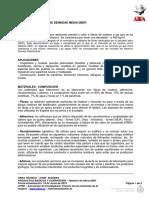Tableros Fibras MDF 15.06.2015
