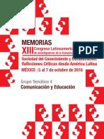 MEMORIAS XIII DE ALAIC