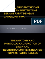 Anatomi, Fungsi Otak Dan Neurotransmitter Yang Berhubung Dengan Gangguan Jiwa