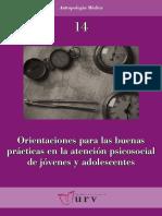 Libro Orientaciones Para Las Buenas Practicas en La Atención Psicosocial de Jovenes y Adolescentes_Angel Martinez-Hernaez