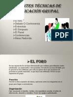tecnicasdecomunicaciongrupal-120818115706-phpapp02
