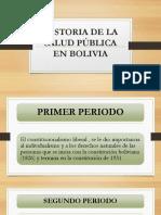 Historia de La Salud Pública en Bolivia.pptx Diaositivas