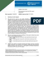 Generator EA Air Dispersion Modelling Report