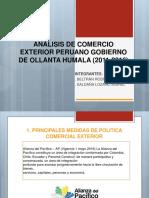 Análisis de Comercio Exterior Peruano Gobierno de Ollanta Ppt