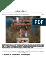 ¿El Linchamiento Es Justicia Indígena_ _ Servindi - Servicios de Comunicación Intercultural