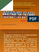 Residentes de Obra- Ic 2018