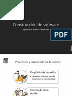 Minimizar La Complejidad - Construcción de software
