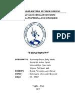 Informe - e Gouvernmet Grupal