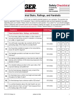 Fixed Industrial Stairs CHECKLIST