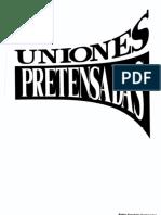 Uniones Pretensadas