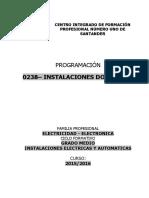 0238 INSTALACIONES DOMÓTICAS