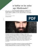 Hay que hablar en las aulas de Santiago Maldonado.docx