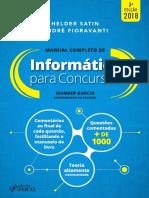 Informática Para Concursos - Manual Completo - 3ª Ed - 2018