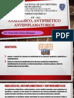 ANALGESICOS, ANTIINFLAMATORIOS, ANTIPIRETICOS