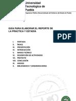 G SA 01 Guia Para Elaborar El Reporte de La Practica y Estadia Licenciatura Mildred Bien