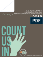 2018 Seattle/King County Point-In-Time Count of Persons Experiencing Homelessness