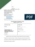 State of Utah v. Purdue Pharma Complaint