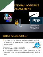 International Logistics Management