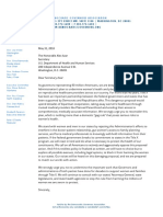 Democratic Governors Gag Rule Letter