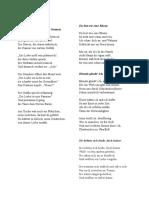 Heine Liebesgedichte