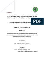 Trabajo Procesal Fiscal