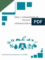 Tema 1. Fundamentos de Cálculo. Introducción a EPANET