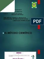 Diapos Metodo c, Proyecto c. Informe c (Ferti)