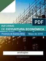 Variación en la obra pública en la provincia de Buenos Aires 2017/2018