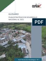 2015 Glosario Plan Estrategico de Desarrollo 2021-1
