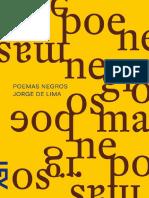 Lima J. Poemas Negros