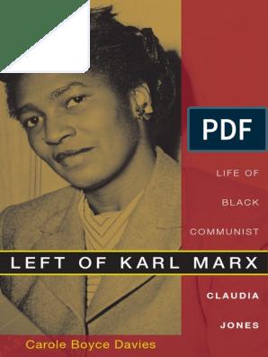 Carole Boyce Davies-Left of Karl Marx - The Political Life of ...